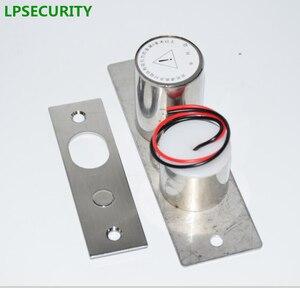 Image 3 - LPSECURITY 800kg משקל שער דלת בקרת גישה מערכת חשמלי מגנטי זכוכית דלת מנעול זרוק bolt בריח