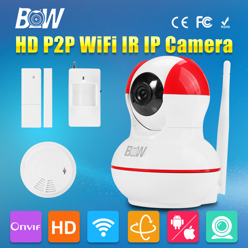 IP font b Camera b font 720P HD P2P Surveillance Security CCTV Wireless Wifi 3 6mm
