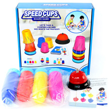 Speed Cup children's Early Educational toy Puzzle Observation Children Family Interactive Activity Table Game Learning Toy цена