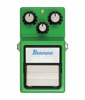Ibanez TS9 Tube Screamer Effects Pedal Classic, Distortion/Overdrive Guitar Stompbox Effect