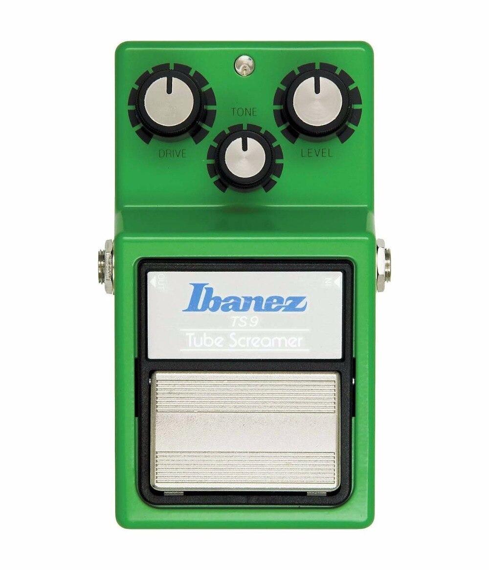 Ibanez TS9 pédale d'effets de cribleur de Tube-classique, effet de Stompbox de guitare de distorsion/Overdrive