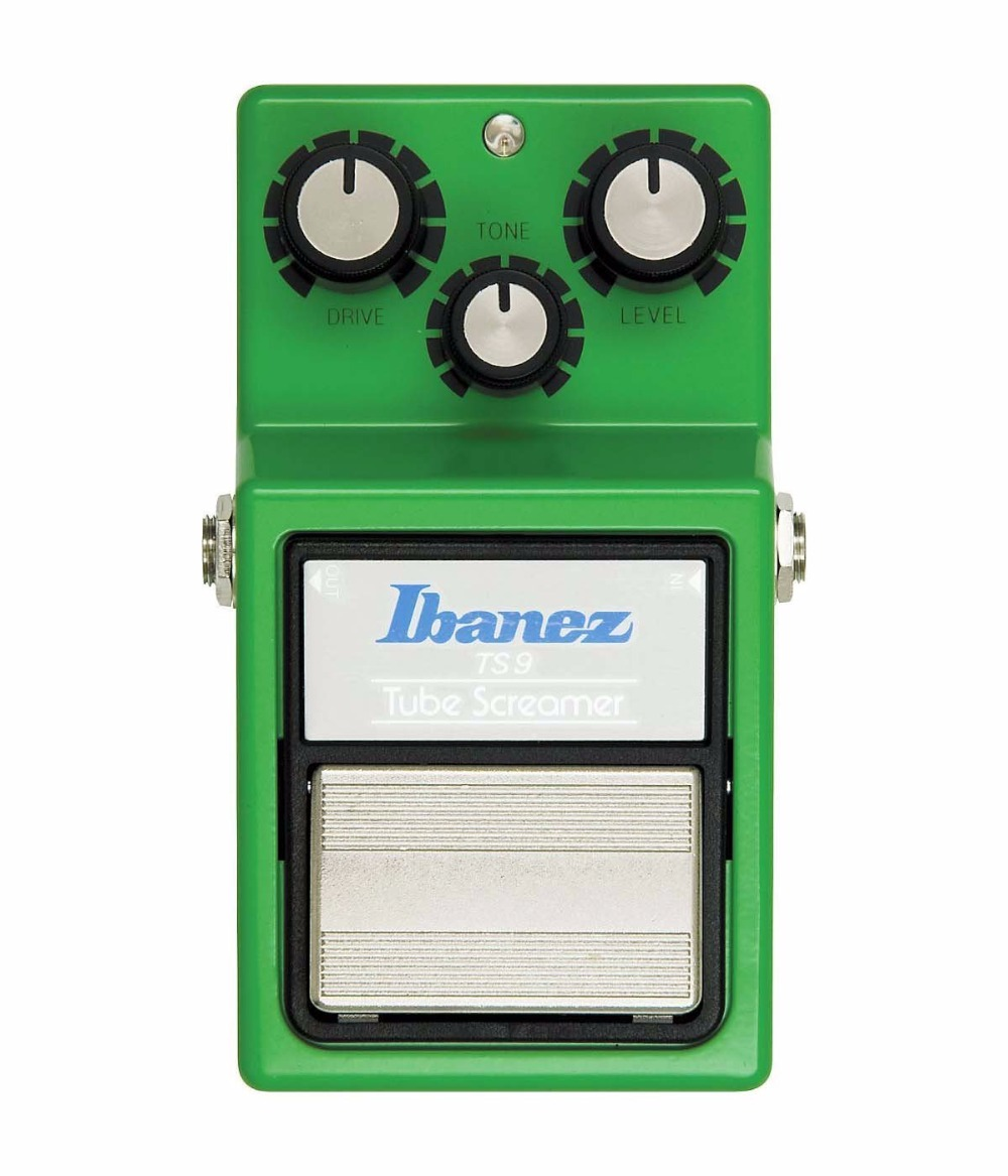 Ibanez TS9 Tube Screamer Effects Pedal - Classic, Distortion/Overdrive Guitar Stompbox Effect