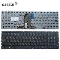 GZEELE Clavier d'ordinateur portable Russe pour HP PK131EM2A05 SN7145 SG-81300-XXA TPN-C126 HQ-TRE RTL8723BE 15-ac 15-af 250 G4 256 G4 255 G4