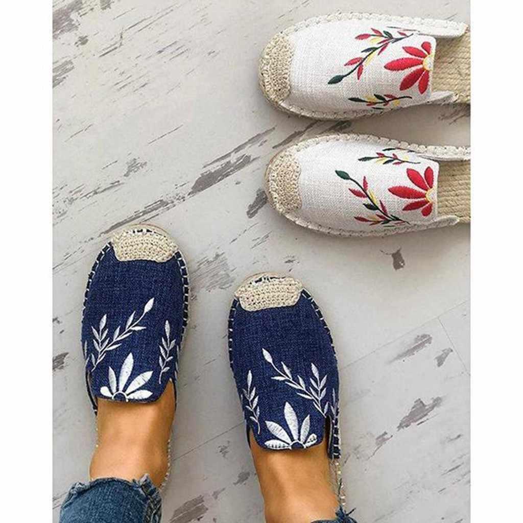 2019 эспадрильи; летние шлепанцы; женская обувь; лоферы с жемчужинами; обувь на плоской подошве; роскошные женские шлепанцы без застежки; #89