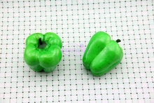 Vegetables redpepper foam fake vegetables caijiao round pepper model props lantern redpepper model of teaching aids eight unit cell cesium chloride crystal structure model cscl eight cubes molecular model chemistry teaching aids