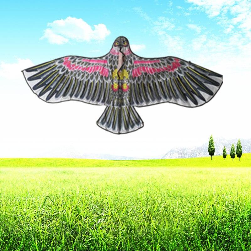 New Toy Kite 1.1 M Bright Cloth Hot Cartoon Eagle Kite Children Breeze Easy To Fly Outdoor Kite Toys