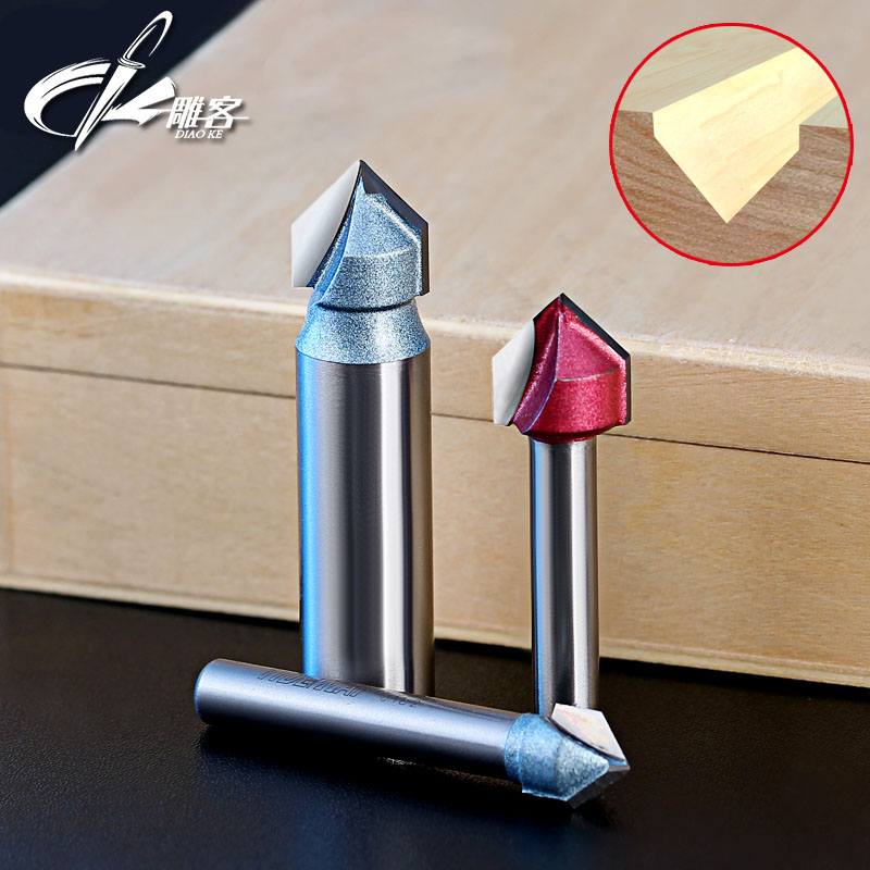 1pcs 6.35/12.7mm SHK Woodworking 90 degrees milling cutter router bits for wood hobbing on wood for frazier cnc milling cutter 1pcs 1 2shank wooden lace knife engraving machine tool milling cutter engraving machine tool hobbing on wood for frazier
