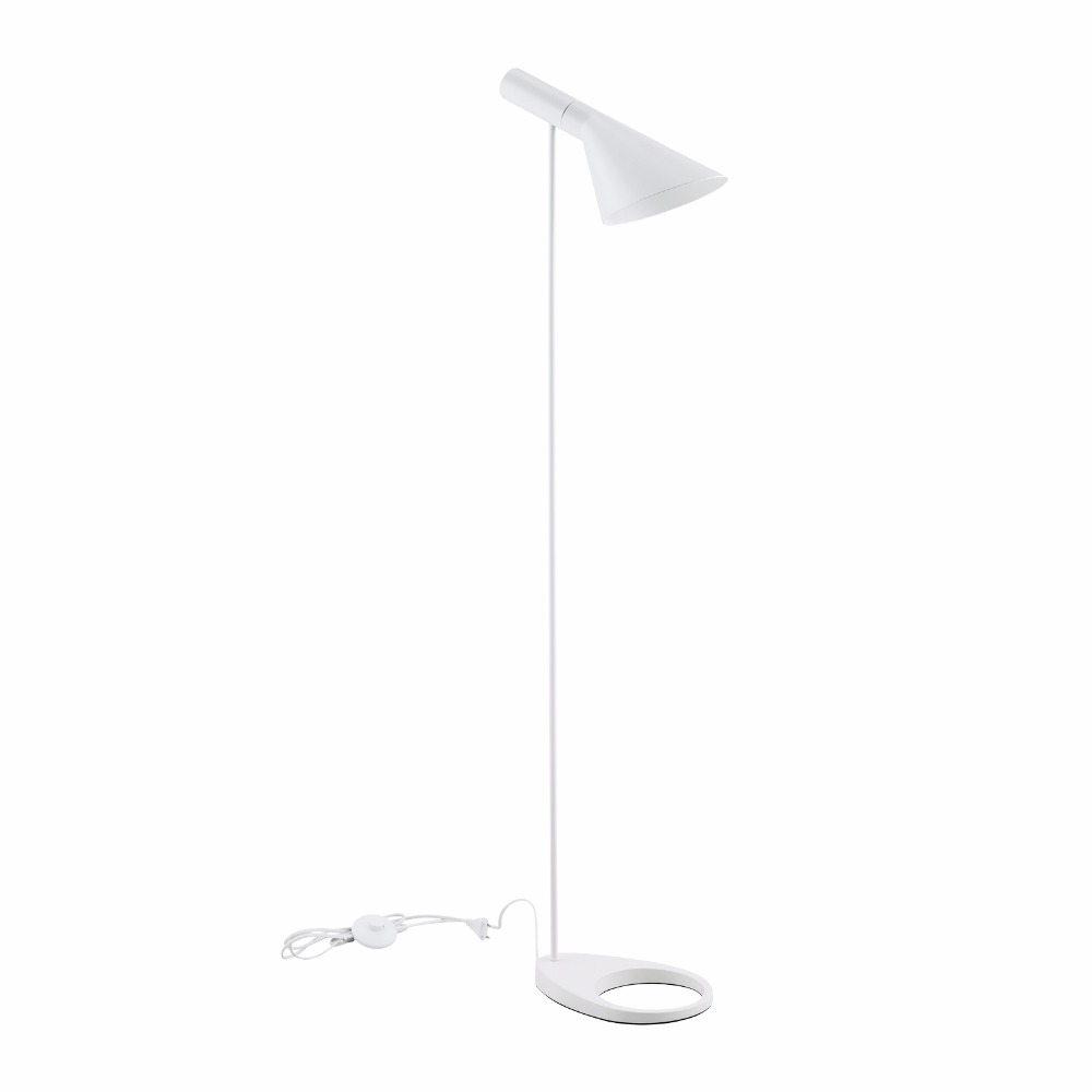 Post moderndesign louis poulsen arne jacobsen aj floor lamp black post moderndesign louis poulsen arne jacobsen aj floor lamp blackwhite metal stand light for living roombedroom e27 led bulb in floor lamps from lights aloadofball Images