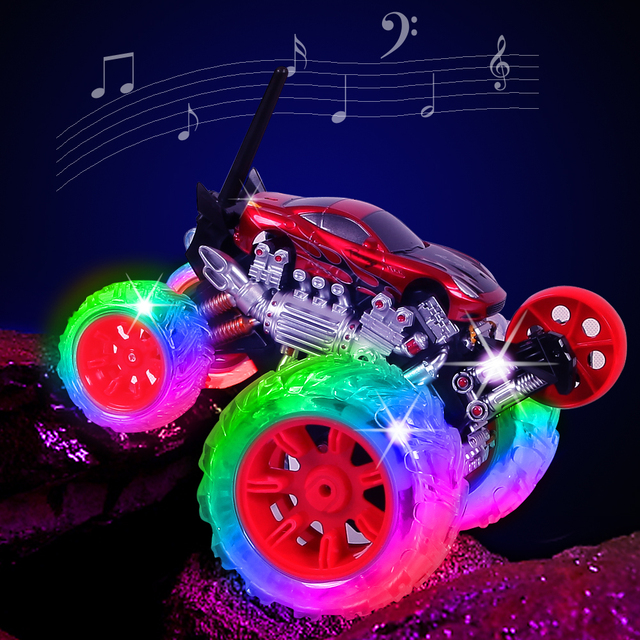 Stunt Remote Control Car Cool Dump Boy Toy Birthday Gift 2 Two 3 Three 4 Four 5 Five 6 Year Old Or More