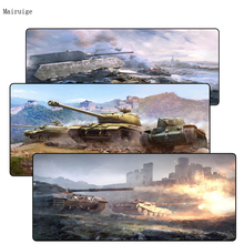 Mairuig 900*400*3MM Black Large gaming Mousepad mouse mat pad L XL XXL Lock the Edge for cs go dota world of tanks game gamer