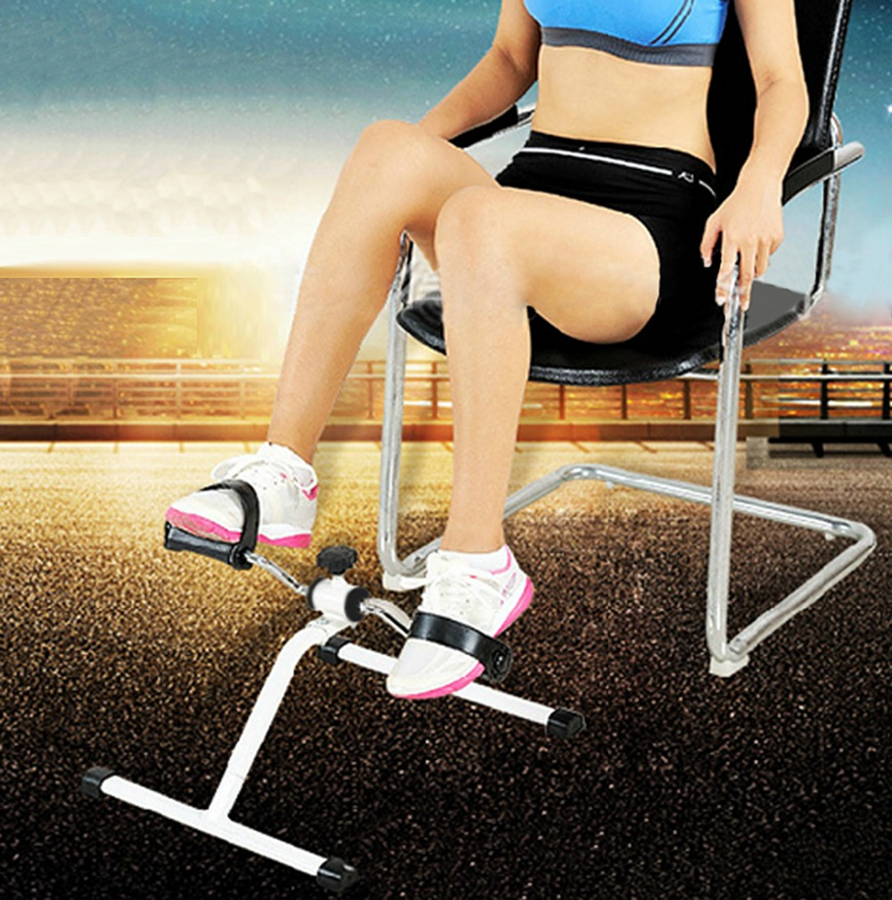 Integrated Fitness Equipments Multi-function Adjustable Fitness Bikes Mobility Trainer Arm and Leg Mini Gym Exercise Bike proactive rehabilitation health mobility trainer training arm and leg exercise bike fitness adjust resistance display calories