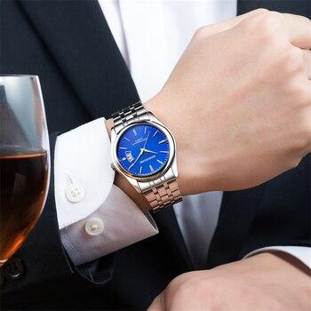 Luxury Casual Quartz Wrist Watch 6