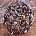 2015 новых осенью Antisilver геометрические стекло стразами украшения цветок хиджаб брошь марка Broches свадьбы подколоть женщины одеваются