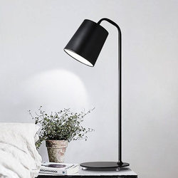 Nowoczesna sztuka dekoracyjna lampa na stół lampa geometria streszczenie projektu poprzez-pod opieką sypialnia lampki nocne dekoracja świetlna Abajur