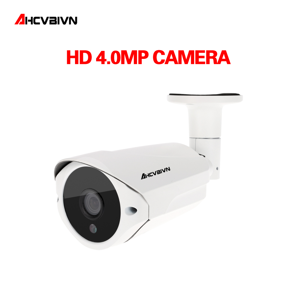 Super 3MP 4MP Full HD CCTV 36 IR LED Night Vision Metal Infrared Outdoor Waterproof Bullet Surveillance Security AHD Camera
