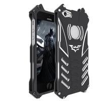 R Just Batman Armor Case For iPhone 5 5S Se 5C Cover 6 6S Plus Luxury Metal Aluminum Coque Capinhas Case For iPhone 7 Plus Case