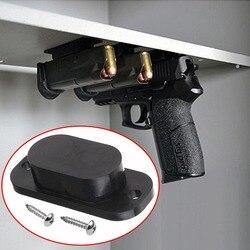 1 PCS Magnetic Titular Pistola Coldre Escondido Sob A Mesa Mesa de Cama Porta Ímã ímã Arma Caça Acessórios Frete Grátis