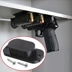 1 pçs magnética escondida pistola titular coldre sob mesa de mesa porta cama ímã arma caça acessórios frete grátis