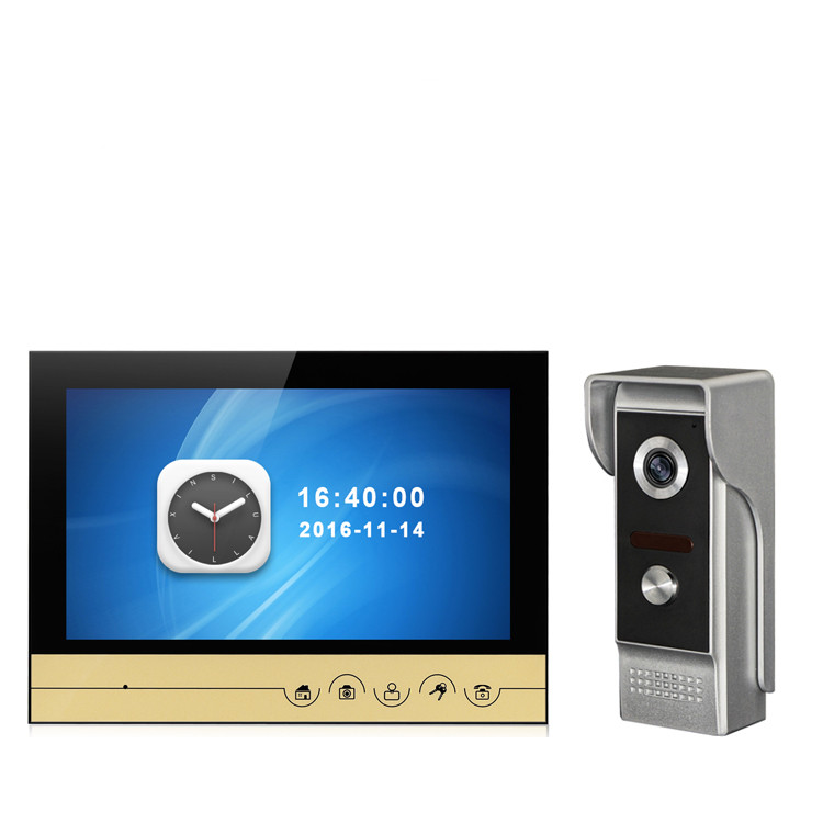 9 Inch Color TFT Monitor Water-proof Wired Video Door Phone  9 Inch Color TFT Monitor Water-proof Wired Video Door Phone