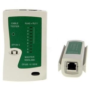 Image 4 - 5Pcs/Set Network Ethernet Cable Tester Rj45 Kit Crimper Crimping Tools Punch Down Rj11 Cat6 Wire Detector Qjy99 Stripping Crim