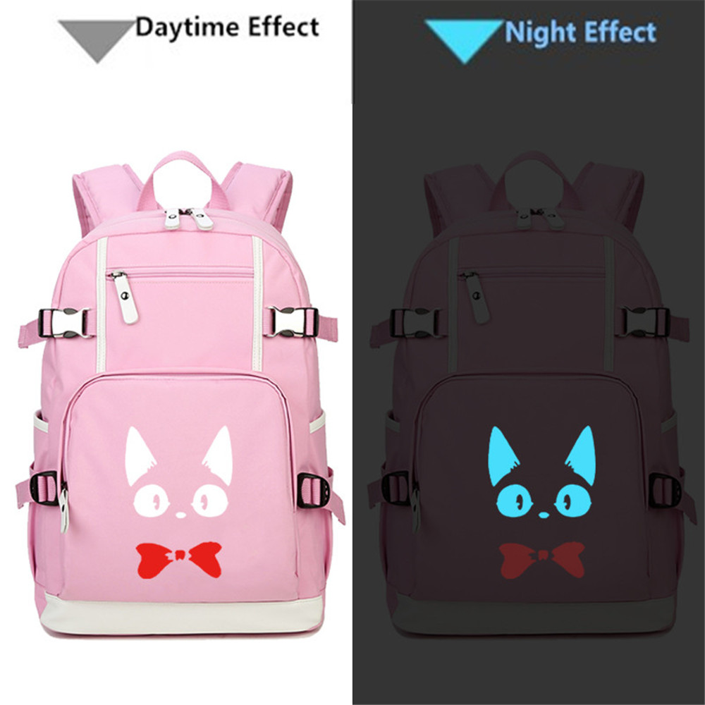 High Quality Seventeen 17 Luminous Backpack Rucksacks Student School Travel Bags Daypack Laptop Bag Backpacks Men's Bags
