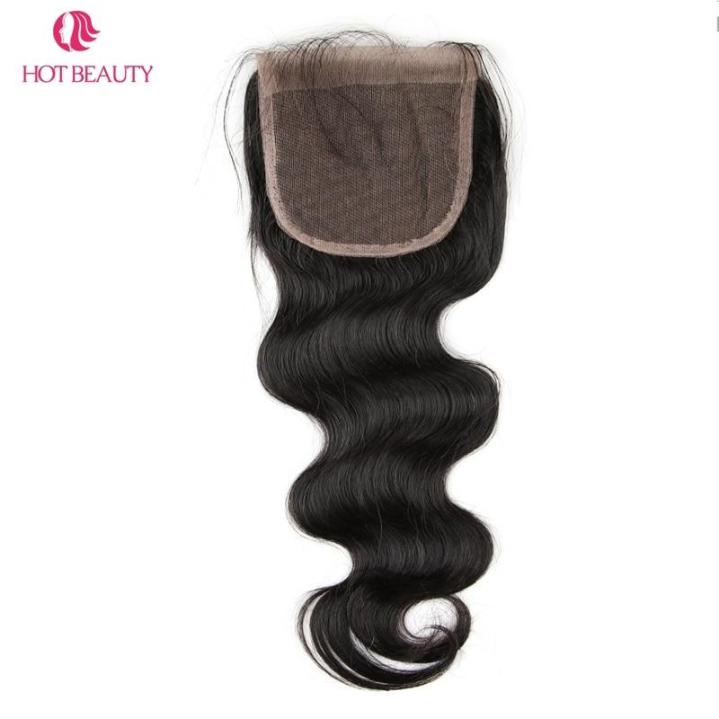 뜨거운 아름다움 머리 Pre 뜯어 낸 페루 바디 웨이브 - 인간의 머리카락 (검은 색) - 사진 2