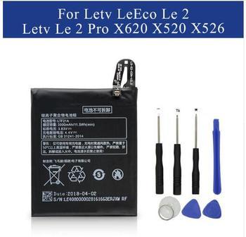 LTF21A Battery For Letv LeEco Le 2 Le2 Pro X620 X626 & X526 X527 LeEco Le S3 626 Mobile phone Rechargeable Li-ion Batteries+tool