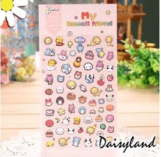 Leuke Mijn Kawaii Vrienden Motief Washi Stickers Dagboek Album Stok Label Scrapbooking DIY Stickers Escolar Papelaria