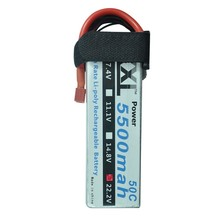 XXL Battery 22.2V 5500mah 50C 6S RC Toys & Hobbies For Helicopters RC Models Li-polymer Battery