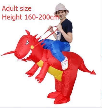 DB23985 inflatable dinosaur costume-10