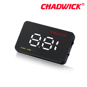 "Image 3 - Simple Number show HUD Digital Car Speedometer Auto 3.5"" Head Up Display Windshield Projector Auto Power on/off CHADWICK A1000"