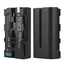 1 шт. 7,2 В 2600 мАч NP-F550 NP-F570 NP F570 NP F550 Перезаряжаемые цифровой Камера Batteria пакет для sony NP-F550 NP-F570 Батарея