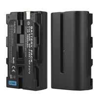 1Pcs 7.2V 2600mah NP-F550 NP-F570 NP F570 NP F550 Rechargeable Digital Camera Batteria Pack For Sony NP-F550 NP-F570 Battery