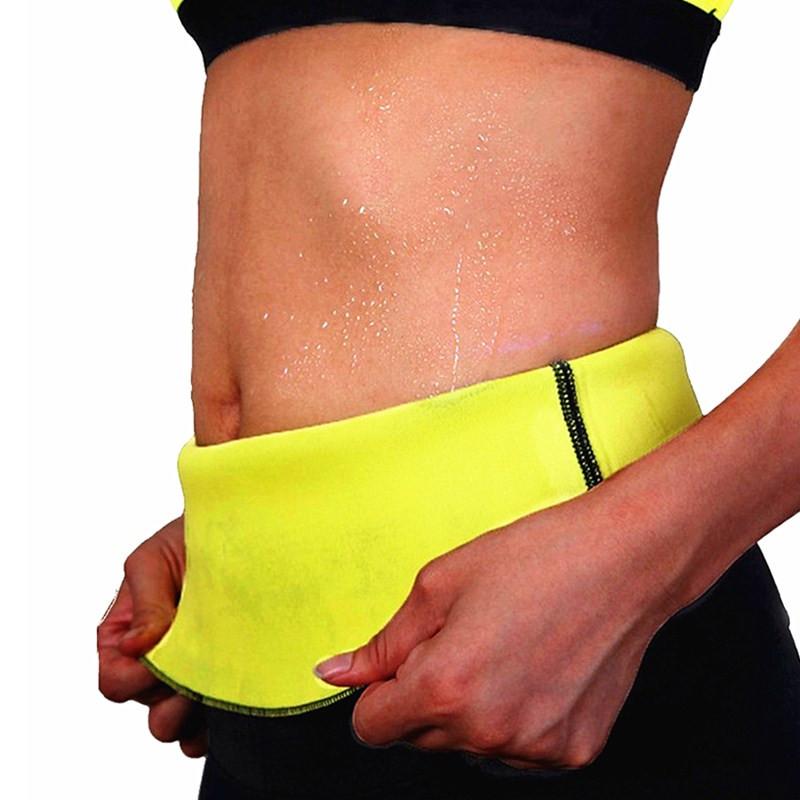 NINGMI Slimming Waist Trainer Women's Tracksuit Fat Burning Hot SPA Sportes Workout Therma Sweat Sauna Neoprene Body Belt Girdle