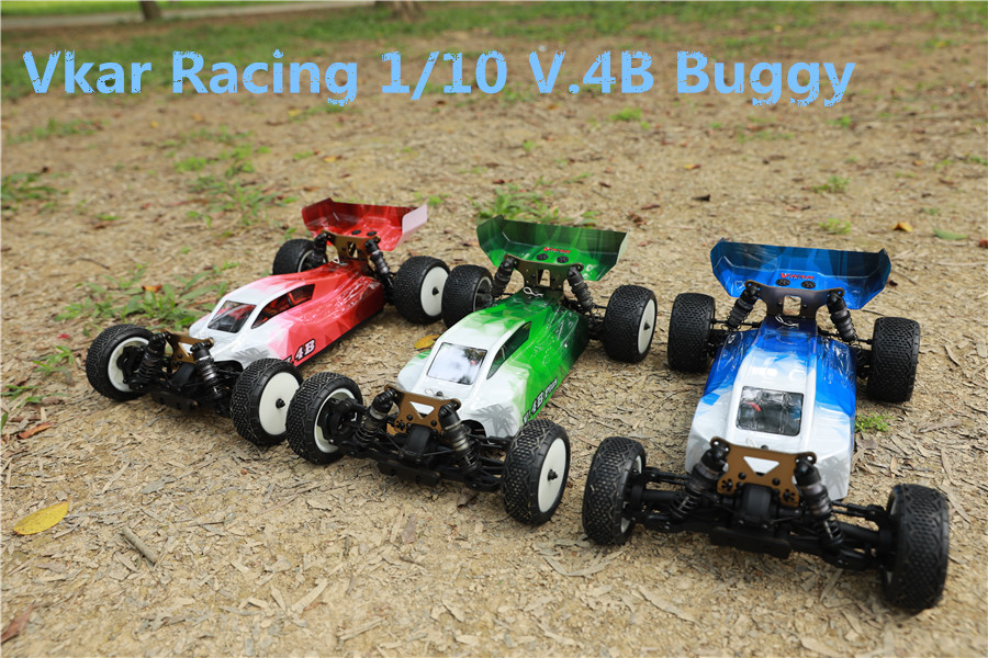 2018 New VKAR RACING 1 10 V 4B 21201 4WD 60A Brushless ESC Off Road Buggy