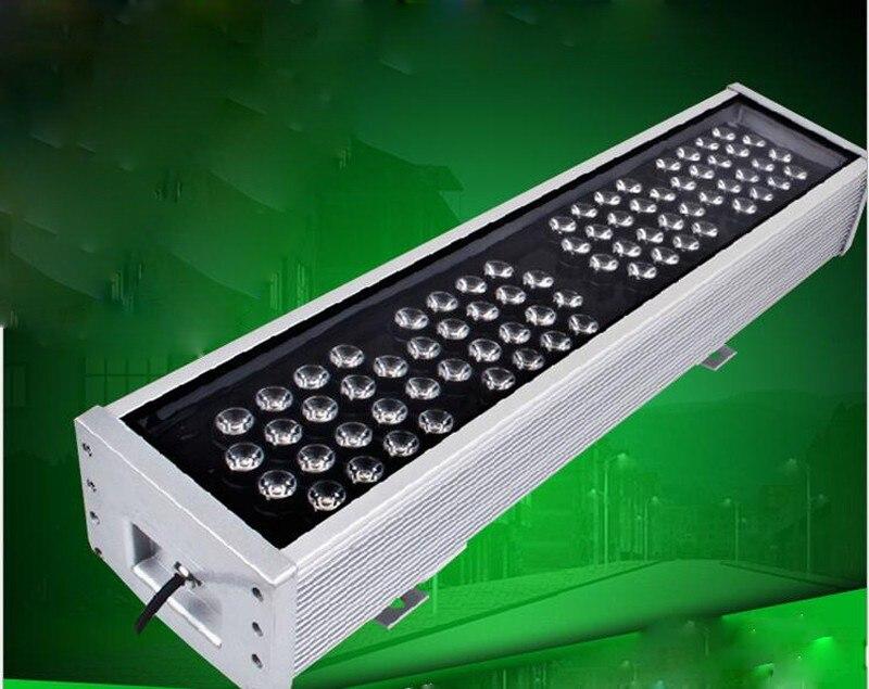2 шт. 72 Вт Водонепроницаемый IP65 AC85 265V светодиодный прожектор светодиодный прожекторы пейзаж голубой/зеленый/ красный/теплый/холодной/RGB Водо