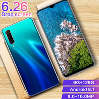 phone screen CHAOAI A50 Pro 6.26 Inch Water Drop Full Screen Global Version Smart Mobile Phone 6GB+128GB Android 8.1 (5)