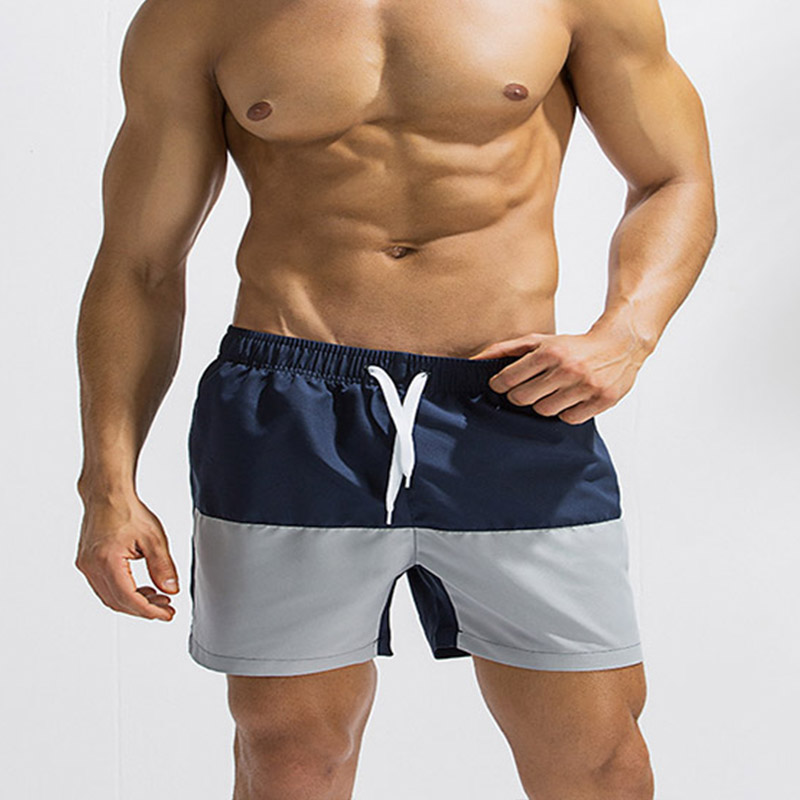 2018 New Summer Mens Swimwear Beach Shorts Loose and Comfortable Swimming Trunks Boxer Beach Pants Men Swimsuits Boardshorts