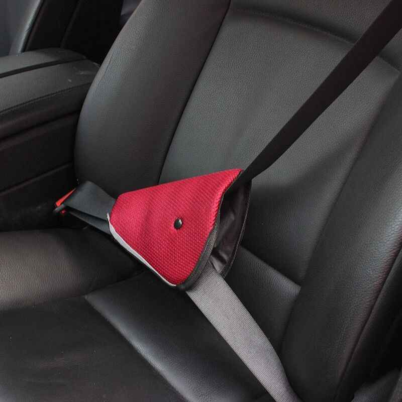 Triangle Baby Car Safety Seat Belts Adjuster Clip For Honda Accord CRV HR-V  CR-Z CRX City Civic car styling