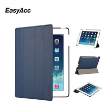 Easyacc for iPad 2/3/4 Case,Utra Slim PU Leather Covers Soft Back Folio Stand with Auto Sleep/Wake Up Smart Case 2 3 4