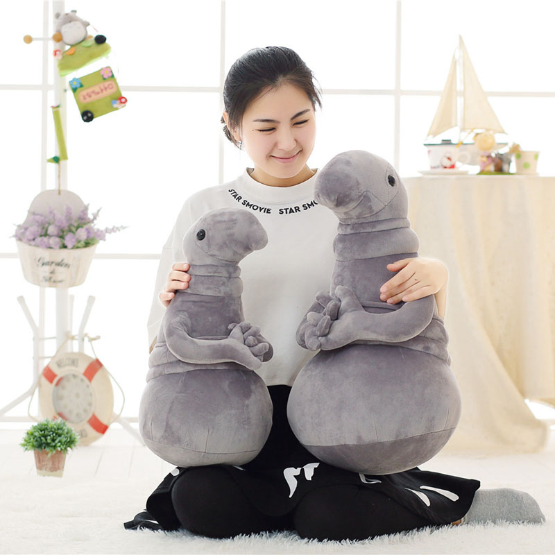 New Arrivals Waiting Plush Toy Zhdun Meme Tubby Grey Blob Zhdun Plush - პლუშები სათამაშოები - ფოტო 3