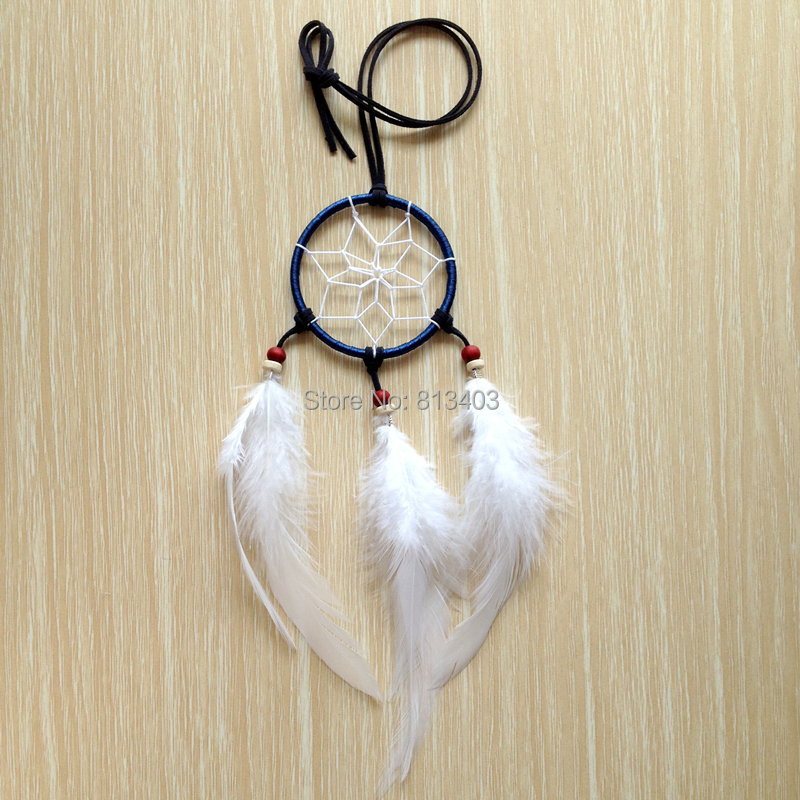 Retro Dream Catcher Pendant Long Chain Necklace Sweater Chain Jewelry Anne