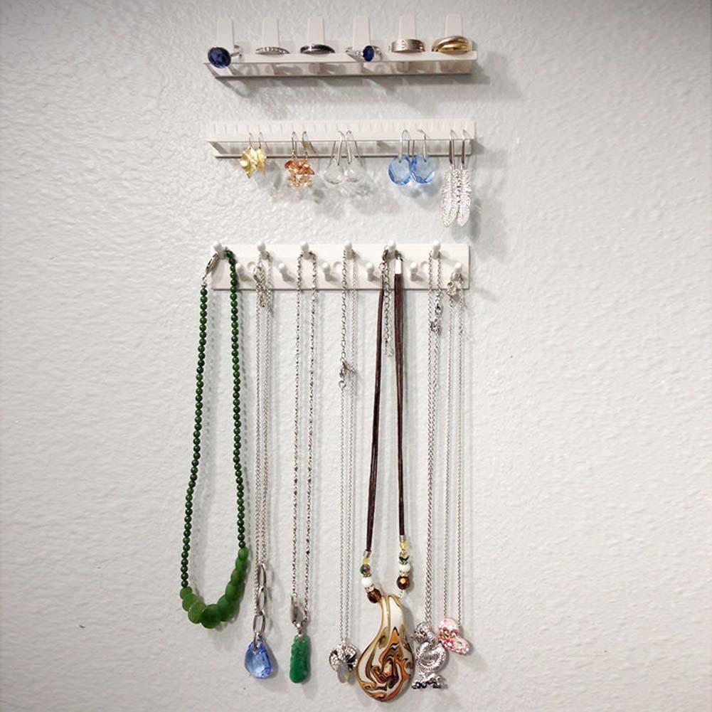 Fun Jewelry Necklace Earring Organizer Wall Hanging ...