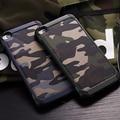 Camuflaje del ejército de Camo Patrón volver cubierta de la PC y de TPU Armor antidetonantes protector teléfono case para huawei p8 p9 lite plus y mate 8 9