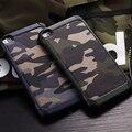Padrão de Camuflagem do exército do Camo tampa traseira PC e TPU Armadura Anti-batida de proteção phone case para huawei p8 p9 lite plus & mate 8 9