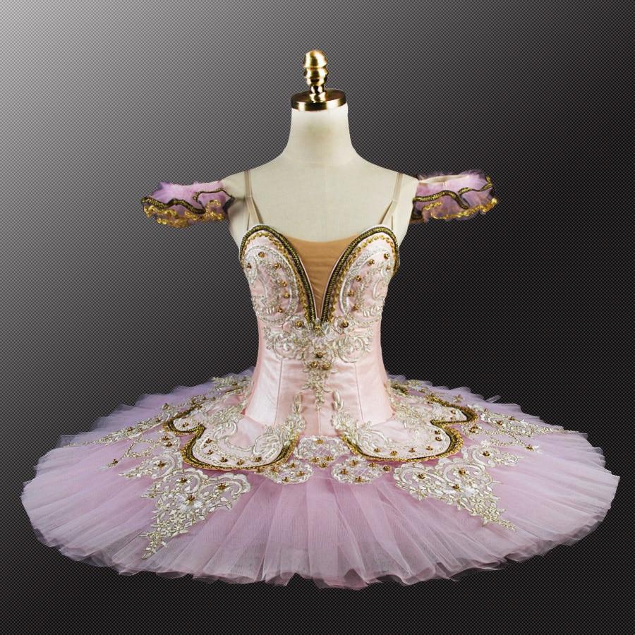 3931e1cd442a7 Professional Ballet Tutu Costume Lilac Fairy Sleeping Beauty Ballet Tutus  Skirt Classical Ballerina Stage Costume
