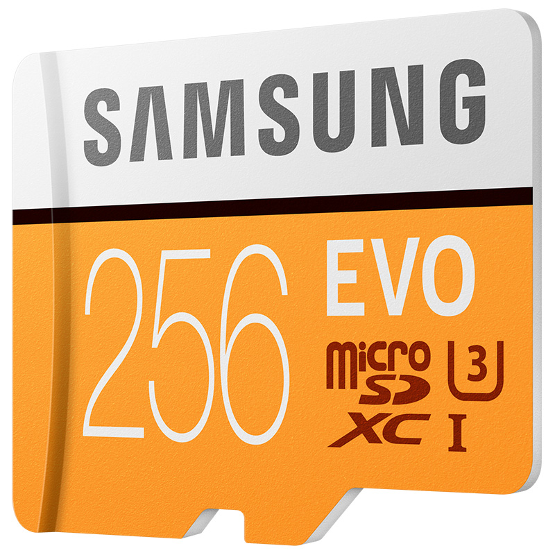 SAMSUNG Carte Mémoire EVO 256 gb Micro SD Class10 4 k Ultra HD Carte MicroSD C10 UHS-I Trans Flash Pour samsung Galaxy S8 S7