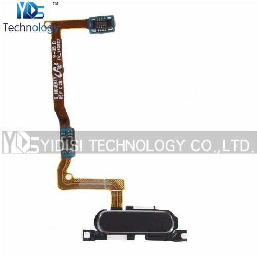 1PCS Original For Samsung Galaxy Alpha G850 G850F Home Button Flex Cable Ribbon Replacement Parts Black