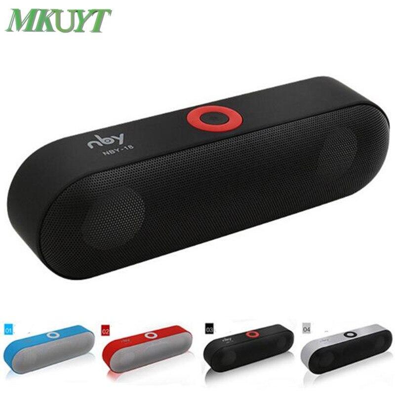 NBY-18 Mini Bluetooth Speaker Portable Wireless Speaker Sound System 3D Stereo//