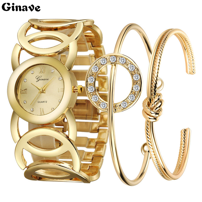 Buy 2019 2019 New Luxury Women Watch Famous Brands Gold Fashion